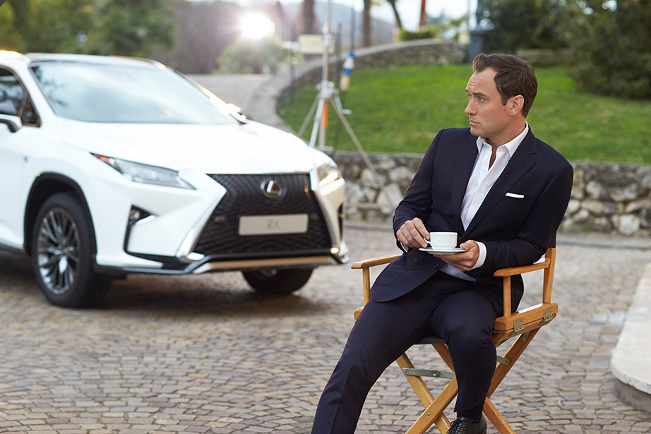 Jude Law and Lexus RX